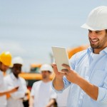 Engineer-tablet-at-construction