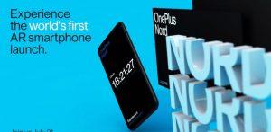 Το OnePlus Nord θα κάνει το ντεμπούτο του στο πρώτο AR smartphone launch, στις 21 Ιουλίου