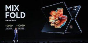 Η Xiaomi παρουσιάζει το Mi MIX FOLD, το πρώτο αναδιπλούμενο smartphone της εταιρείας