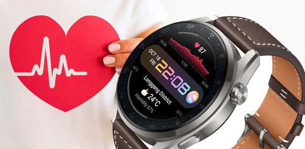 Huawei Watch 3: Εσείς κοιτάτε την ώρα και αυτό την υγεία σας!